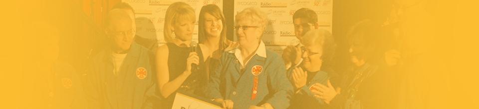 Photo of the HGH radiotelethon