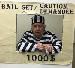 Dr. Jean Fairfield is asking family and friends for $1,000 to bail him out of jail!