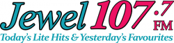 The Jewel 107.7 FM logo