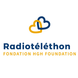 Logo Radiotéléthon Fondation HGH