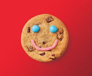 Biscuit sourire Tim Horton's