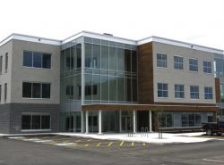 Mental Health and Addiction Regional Centre is a new purpose-built three-storey building featuring lots of natural light.