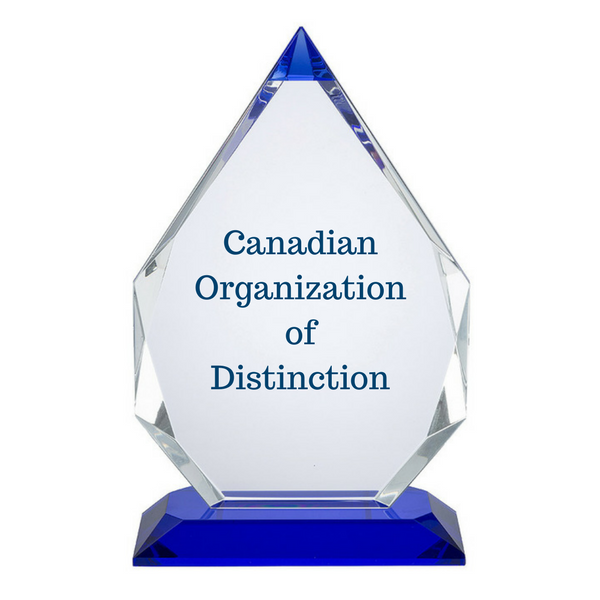 Canadian Organization of Distinction Award
