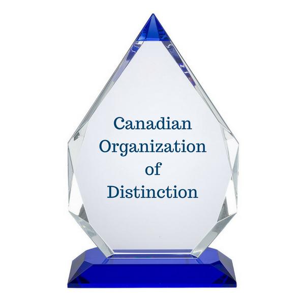 Canadian Organization of Distinction Award