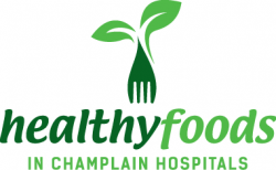 Healthy Foods in Champlain Hospitals logo