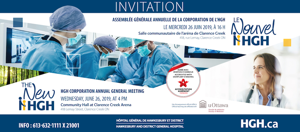 Invitation to HGH 2018-19 AGM