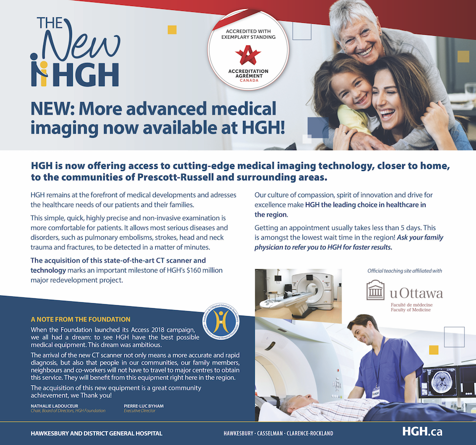 Hgh Unveils Its New Computed Tomography Ct Scanner