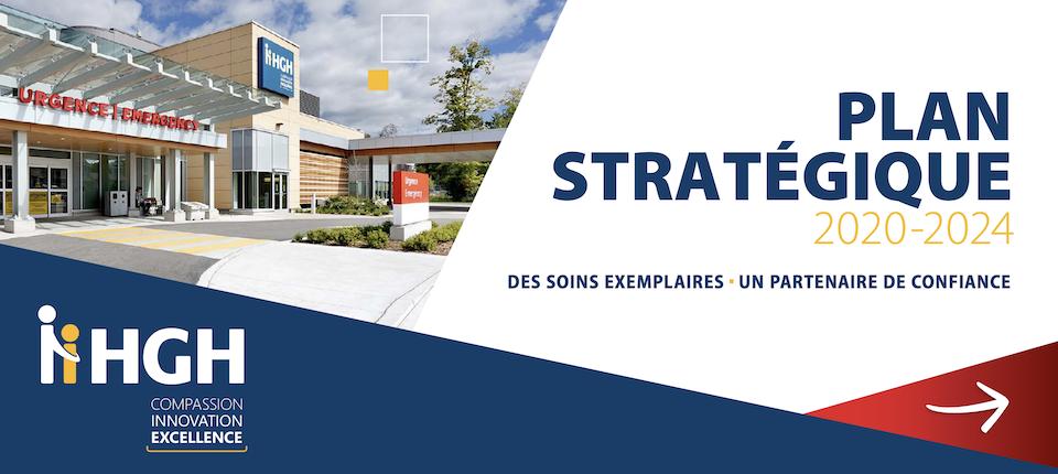 Le Plan stratégique 2020-2024 de l'HGH est un document de 26 pages. Mise à jour en janvier 2021.