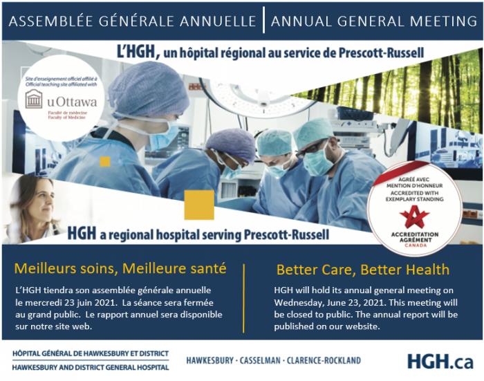 HGH AGM announcement